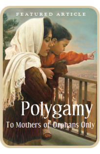 Polygamy - For the Mothers of Orphans Only